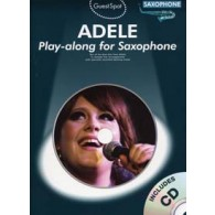 GUEST SPOT ADELE PLAY-ALONG SAXOPHONE