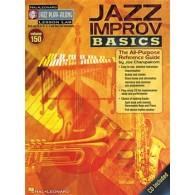 JAZZ PLAY-ALONG VOL 150: JAZZ IMPRO BASICS INSTRUMENTS BB, EB, C, BASS