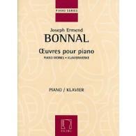 BONNAL J.E. OEUVRES POUR PIANO