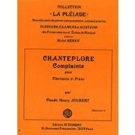 JOUBERT C.H. CHANTEPLORE CLARINETTE