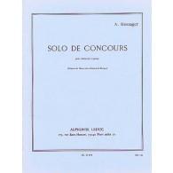MESSAGER A. SOLO DE CONCOURS CLARINETTE