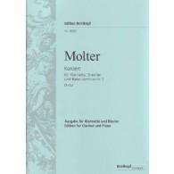 MOLTER J.M. CONCERTO N°2 CLARINETTE