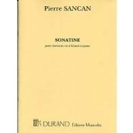 SANCAN P. SONATINE CLARINETTE