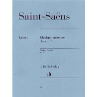 SAINT-SAENS C. SONATE OP 167 CLARINETTE