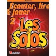 ECOUTER LIRE JOUER VOL 2: LES SOLOS SAXO