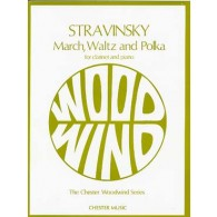STRAVINSKY I. MARCH, WALTZ AND POLKA CLARINETTE