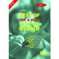 BEST OF POP & ROCK FOR CLASSICAL GUITAR VOL 1