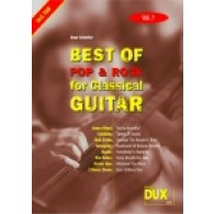 BEST OF POP & ROCK FOR CLASSICAL GUITAR VOL 7