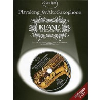 GUEST SPOT KEANES HOPES AND FEARS PLAY-ALONG FOR ALTO SAXO