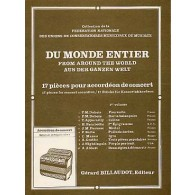 DU MONDE ENTIER VOL 1 ACCORDEON