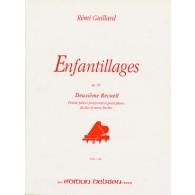 GUILLARD R. ENFANTILLAGES OP 49 VOL 2 PIANO