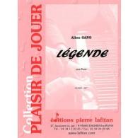SANS A. LEGENDE PIANO