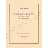 BARBE T. A CHATON ROMPU CONTREBASSE