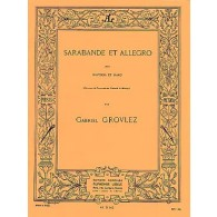 GROVLEZ G. SARABANDE ET ALLEGRO HAUTBOIS