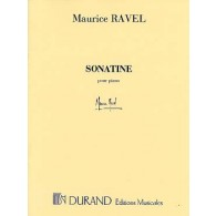 RAVEL M. SONATINE PIANO
