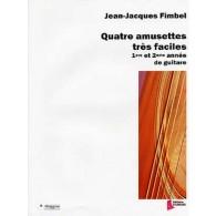 FIMBEL J.J. AMUSETTES TRES FACILES GUITARE