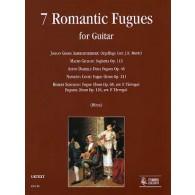 ROMANTIC FUGUES  GUITARE