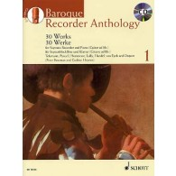 BAROQUE RECORDER ANTHOLOGY VOL 1 FLUTE A BEC SOPRANO