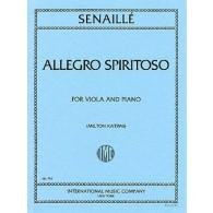 SENAILLE J.B. ALLEGRO SPIRITOSO ALTO