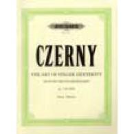CZERNY K. ART DE DELIER LES DOIGTS OP 740 PIANO