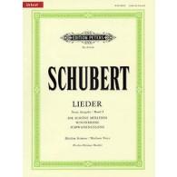 SCHUBERT F. LIEDER VOL 1 VOIX MOYENNE