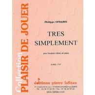 OPRANDI P. TRES SIMPLEMENT HAUTBOIS