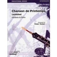 NOTEN P. CHANSON DE PRINTEMPS HAUTBOIS
