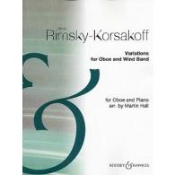 RIMSKY-KORSAKOV N. VARIATIONS HAUTBOIS