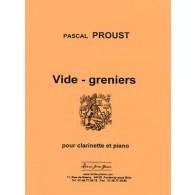 PROUST P. VIDE-GRENIERS CLARINETTE