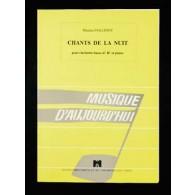 FAILLENOT M. CHANT DE LA NUIT CLARINETTE BASSE