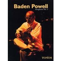 BADEN POWELL SONGBOOK VOL 3 GUITARE