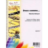 BALAYER C. DOUX COMME QUATUOR FLUTES