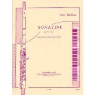 DUTILLEUX H. SONATINE FLUTE