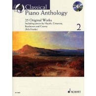 CLASSICAL PIANO ANTHOLOGY VOL 2 PIANO