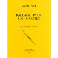 FICHE M. BALLADE POUR UN MARTIEN CLARINETTE