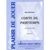 MEREAUX M. CONTE DE PRINTEMPS FLUTE
