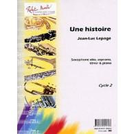 LEPAGE J.L. UNE HISTOIRE SAXO MIB OU SIB