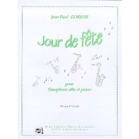 GORISSE J.P. UN JOUR DE FETE SAXO MIB