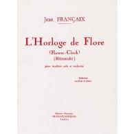 FRANCAIX J. L'HORLOGIE DE FLORE HAUTBOIS
