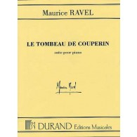 RAVEL M. LE TOMBEAU DE COUPERIN PIANO