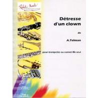 TELMAN A. DETRESSE D'UN CLOWN TROMPETTE