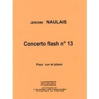 NAULAIS J. CONCERTO FLASH N°13 COR