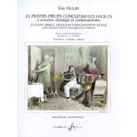 HULIN E. 21 PETITES PIECES CONCERTANTES VOL 3 COR