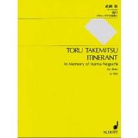 TAKEMITSU T. ITINERANT FLUTE
