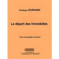 DURAND P. LE DEPART DES HIRONDELLES TROMPETTE