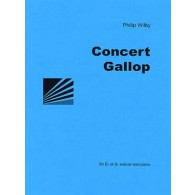WILBY P. CONCERT GALLOP SAXHORN ALTO