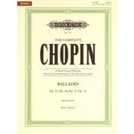 CHOPIN F. BALLADES PIANO