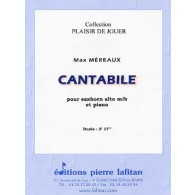 MEREAUX M. CANTABILE SAXHORN ALTO