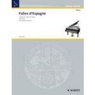 FOLIES D'ESPAGNE PIANO