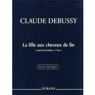 DEBUSSY C. LA FILLE AUX CHEVEUX DE LIN PIANO